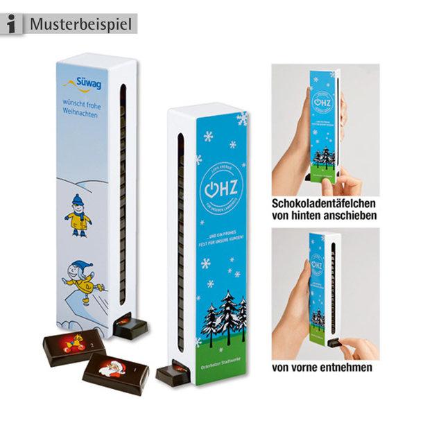 Adventskalender - neuer 365-Tage-Schokoladen-Spender-Turm