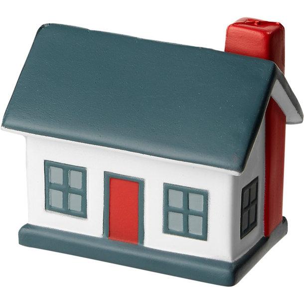 Antistress Haus mit Dach als Werbefläche