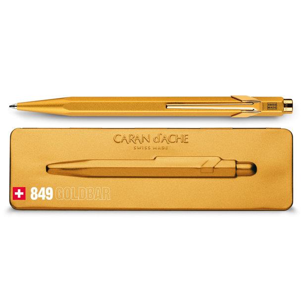 Kugelschreiber mit Goldbarren-Touch