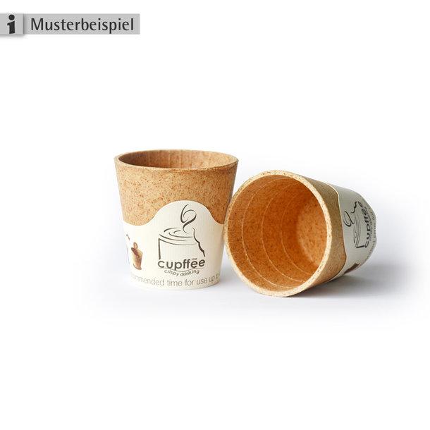 Kaffeebecher-Cupffee - Essbarer Kaffeetasse