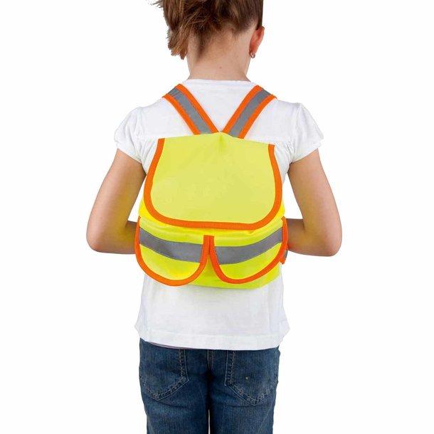 Kindersicherheits-Rucksack mit reflektierenden Elementen