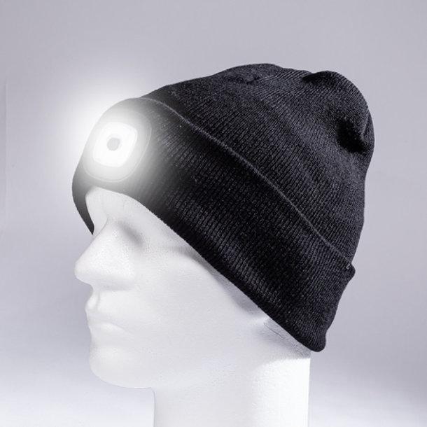 LED-Mütze Eileen - mit-integrierter-aufladbarer-Batterie