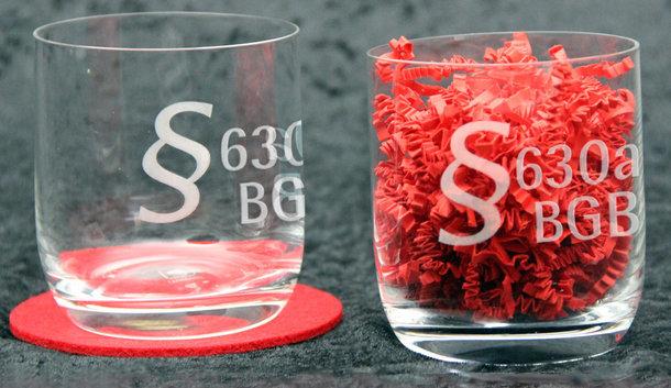 Glas mit §630a BGB - Behandlungsvertrag