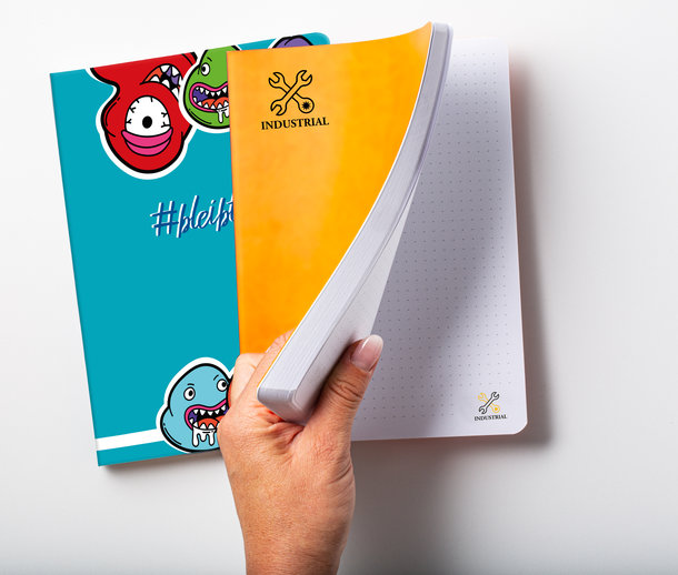 Antimikrobielles Softcover Notizbuch von MYRIX_
