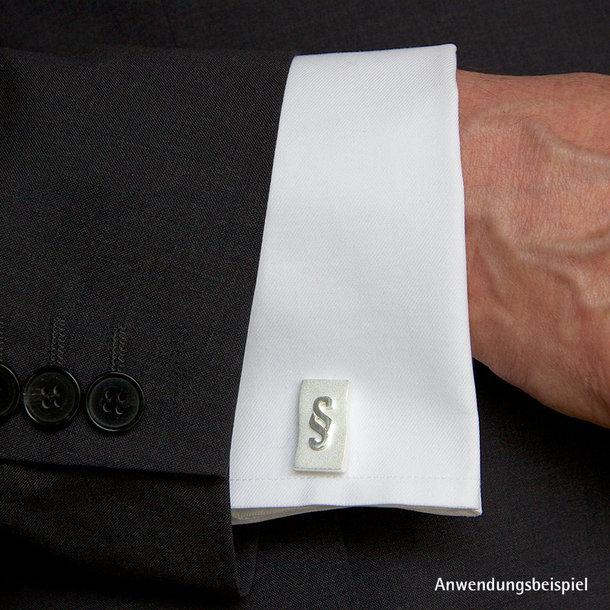 Paragraphen-Logo auf Manschettenknöpfen - Präsent / Geschenk
