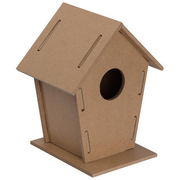 Vogelhaus-Bausatz aus MDF -nachhaltiger Bastelspass für Jung & Alt