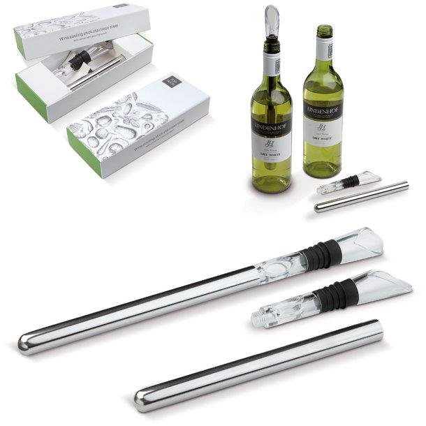 Weinkühler-Stab - personalisiert Ihr Weinpräsent