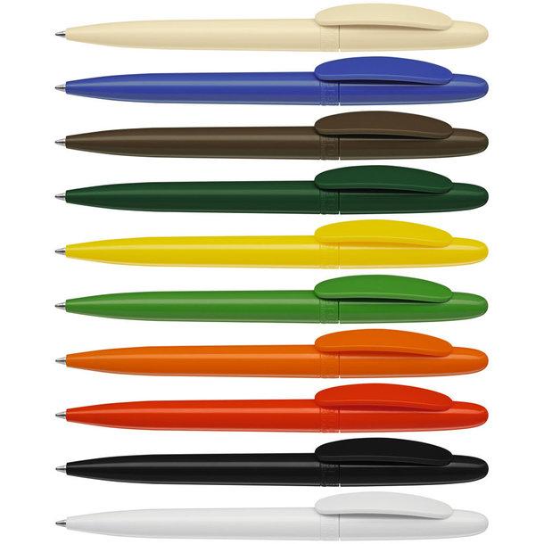 antibakterieller Kugelschreiber mit Silberionen - ohne Bakterienbildung auf Stiftoberfläche