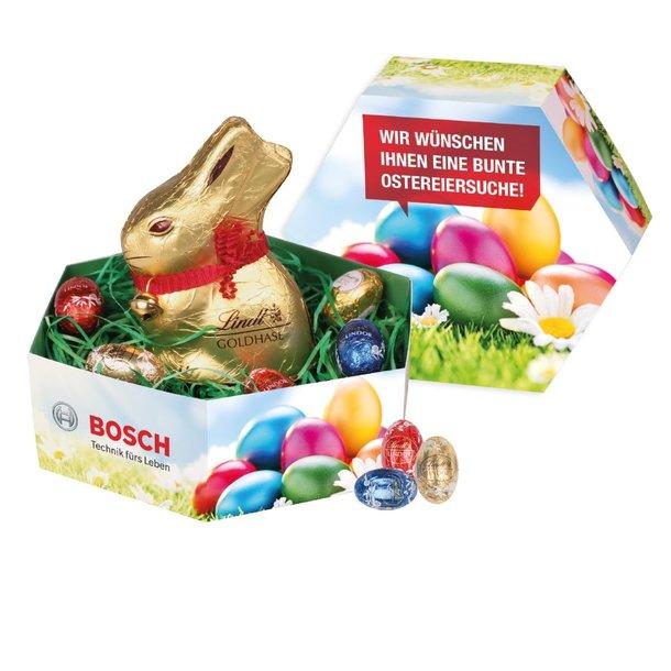 Osternest mit Lindt-Schokolade, Klimaneutral